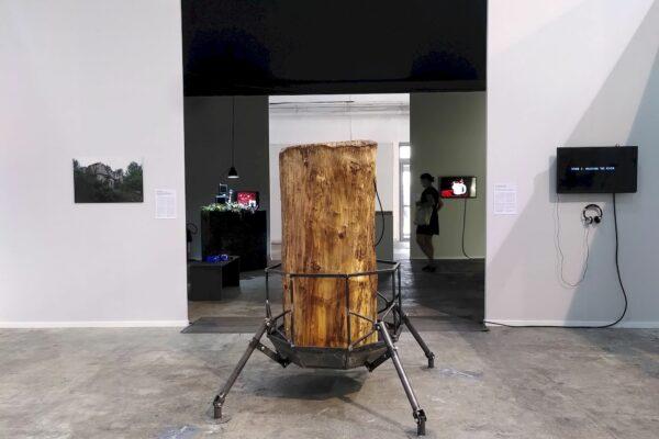Victor Remère, Prototype de ruche numérique, 2021. Photo : © Victor Remère
